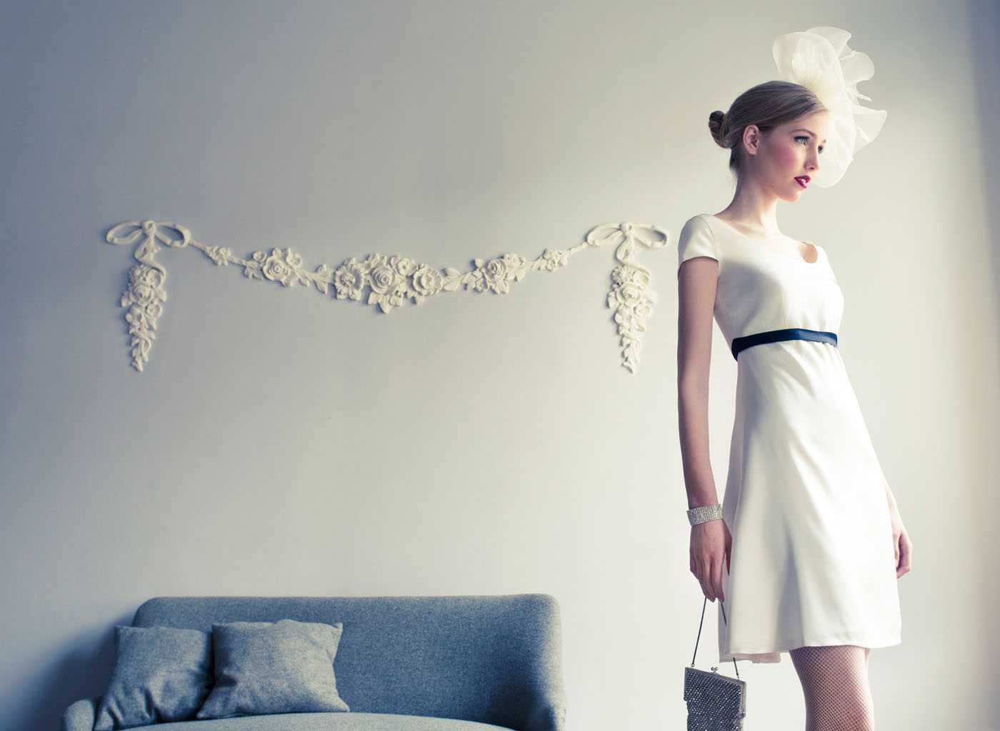Kurzes Hochzeitskleid im Empire-Stil von Coco Lores