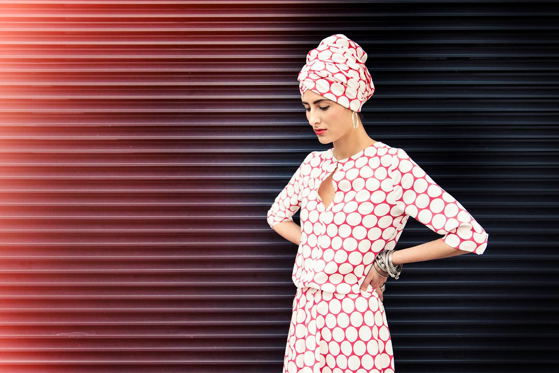 Polka Dots Kleid der Kollektion Ada Lovelace von Coco Lores