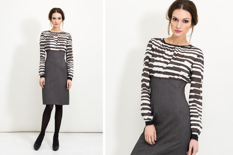 Business Outfit mit Bleistiftkleid von Coco Lores