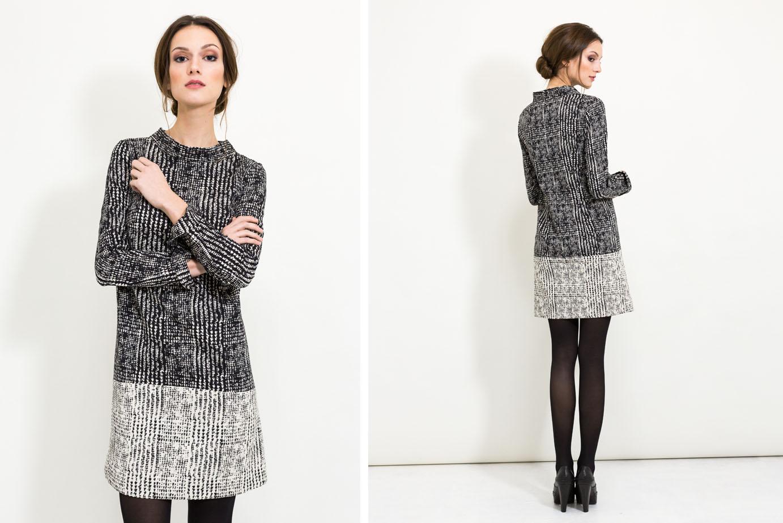 Business Outfit mit Sixties Kurzkleid von Coco Lores