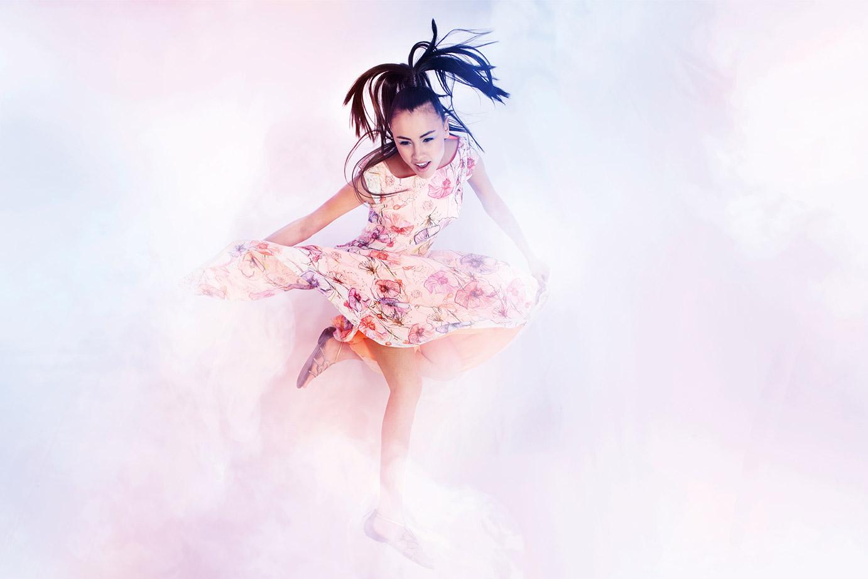 Langes Sommerkleid der Kollektion I'm a Rebel von Coco Lores