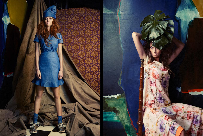 Sommerkleid aus der Rebel Kollektion von Coco Lores