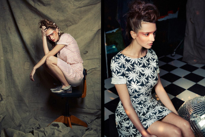 Sommerkleider aus der Rebel Kollektion von Coco Lores
