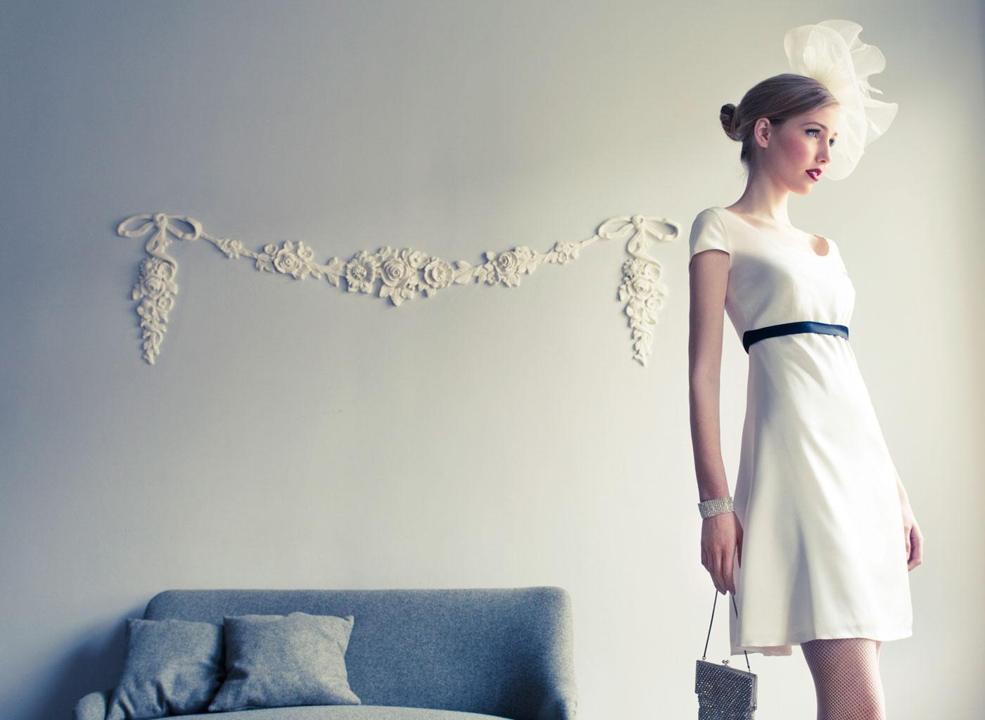 Kurzes Hochzeitskleid von Coco Lores