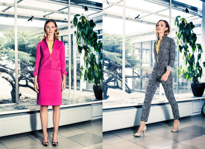 Feminines Kostüm und Hosenanzug für Büro und Business