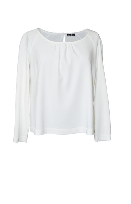 CocoLores_Raglanbluse_weiss_Front