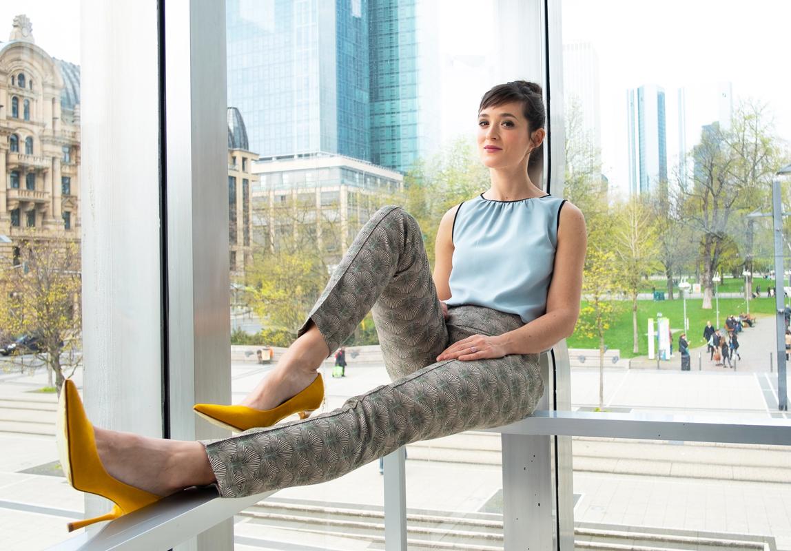 Friederike Becht, Schauspielerin aus dem Schauspiel Frankfurt