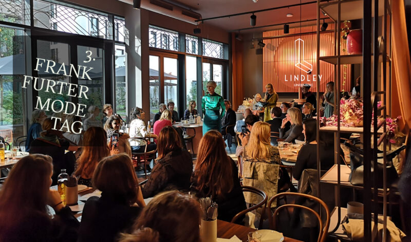 Frankfurter Modetag im Lindley lindenberg mit Coco Lores
