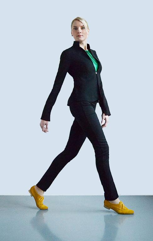Businesskostüm für große Frauen