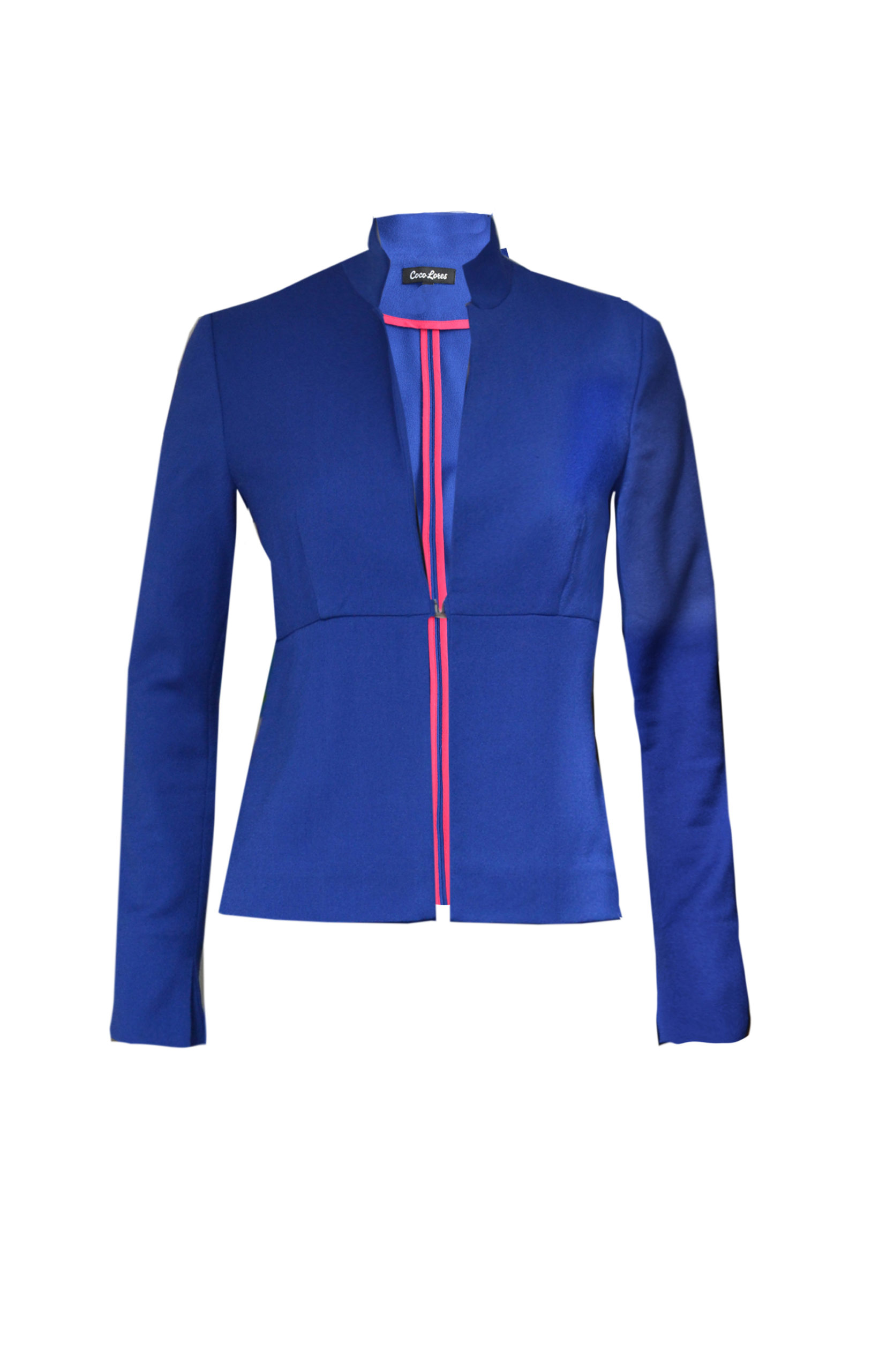 Businessjacke blau
