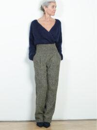 Hose aus Tweed
